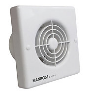 Manrose QF100T Bathroom Extractor fan (Dia)100mm