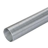 Manrose Semi-flexible Aluminium Ducting length, (Dia)100mm