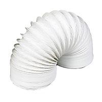 Manrose White PVC Flexible Ducting hose, (L)2.5m (Dia)100mm