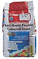 Mapei Limestone Anti-mould Flexible Grout, 5kg