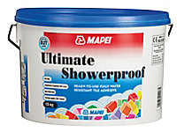 Mapei Ultimate shower proof Ready mixed Cream Tile Adhesive, 15kg