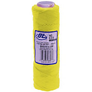 Marshalltown Yellow Braided nylon Brick line 76m