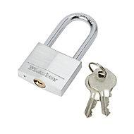 Master Lock Aluminium Cylinder Long shackle Padlock (W)40mm