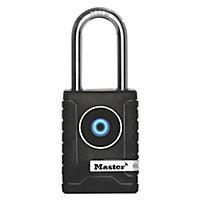 Master Lock Metal Ball bearing Smart Bluetooth Padlock (W)56mm