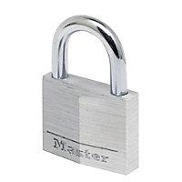 Master Lock Standard Aluminium Cylinder Padlock (W)50mm