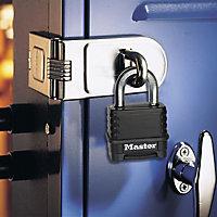 Master Lock Weather tough Zinc & Boron carbide Combination Padlock (W)57mm