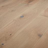 Mawson Grey Oak Real wood top layer Flooring Sample