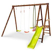 Mayaca Wooden Swing set