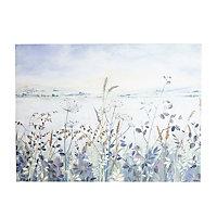 Meadow Multicolour Canvas art (H)570mm (W)770mm
