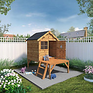 Mercia 5x6 Snug Apex Shiplap Tower playhouse