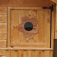 Mercia 6x4 Tulip Apex Shiplap Playhouse - Assembly service included