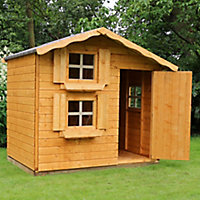 Mercia 7x5 Snowdrop Apex Shiplap Playhouse - Assembly service included