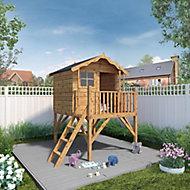 Mercia 7x6 Poppy Apex Shiplap Tower playhouse