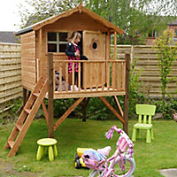 Mercia 7x6 Tulip Apex Shiplap Tower playhouse