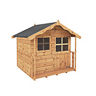 Mercia Poppy Shiplap Wooden Playhouse