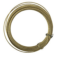 Metal Picture hook wire, (L)6m
