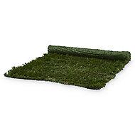 Metal & polyvinyl chloride (PVC) Green Artificial hedge screen (H)1m (W)3m