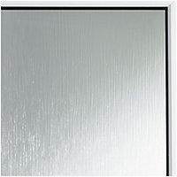 Mid bar White PVCu Fully glazed Back door & frame RH, (H)2055mm (W)840mm