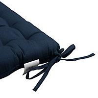 Midnight navy Plain Seat pad