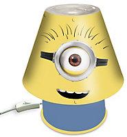 Minions Matt Yellow LED Desk lamp