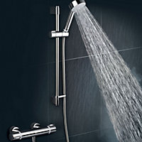 Mira Atom EV Chrome Thermostatic Bar mixer shower