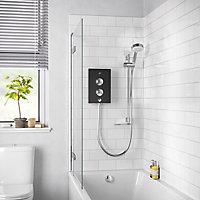 Mira Decor Black onyx Electric Shower, 9.5kW