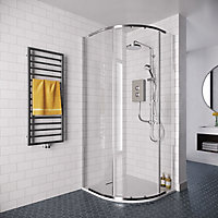 Mira Decor Dual Silver effect Electric Shower, 10.8kW