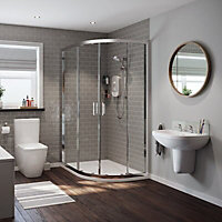 Mira Play White Electric Shower, 9.5kW