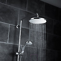 Mira Sprint dual White Chrome effect Electric Shower, 9.5kW