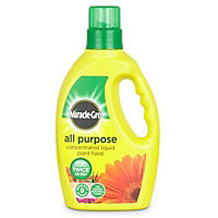 Miracle Gro Concentrated Universal Liquid Plant feed 1L