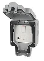 MK 13A Grey RCD connection unit