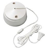 MK White Single 6A 2 way Pull cord Switch
