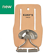 Kunys Full-Grain Leather Snap-In Hammer Loop