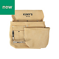 Kunys Split-Grain Leather Half Apron