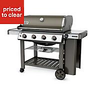 Weber Genesis® II E410™ GBS™ 4 burner Gas Smoke grey Barbecue