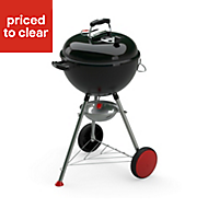 Weber Kettle Plus GBS® Black Charcoal Barbecue