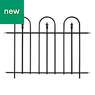 Panacea Triple Arch Traditional Railings, (L)1.22m (H)0.91m (T)20mm