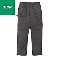 """Site Beagle Black Men's Trousers, W30"""" L32"""""""