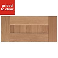 Cooke & Lewis Chesterton Solid Oak Bridging Cabinet door (W)600mm