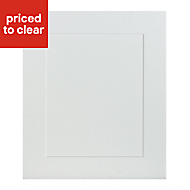IT Kitchens Stonefield Ivory Classic Integrated appliance Cabinet door (W)600mm