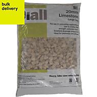 Diall 20 mm Limestone Large bag