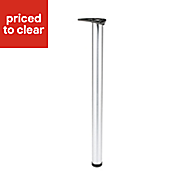 IT Kitchens 860mm Stainless steel effect Worktop support leg