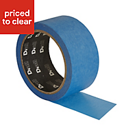 B&Q Professional Blue Masking tape (L)25m (W)50mm