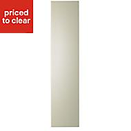 IT Kitchens Santini Gloss Cream Slab Standard Cabinet door (W)150mm