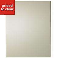 IT Kitchens Santini Gloss Cream Slab Standard Cabinet door (W)600mm