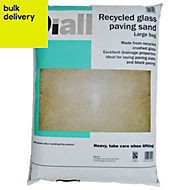 Diall Recycled glass paving sand Large bag