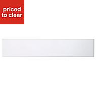 Cooke & Lewis Raffello High Gloss White Oven Filler Panel (H)115mm (W)597mm