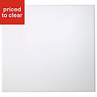 Cooke & Lewis Raffello High Gloss White Oven housing Cabinet door (W)600mm