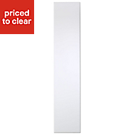 Cooke & Lewis Raffello High Gloss White Standard Cabinet door (W)150mm