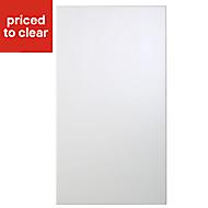 Cooke & Lewis Raffello High Gloss White Standard Cabinet door (W)400mm